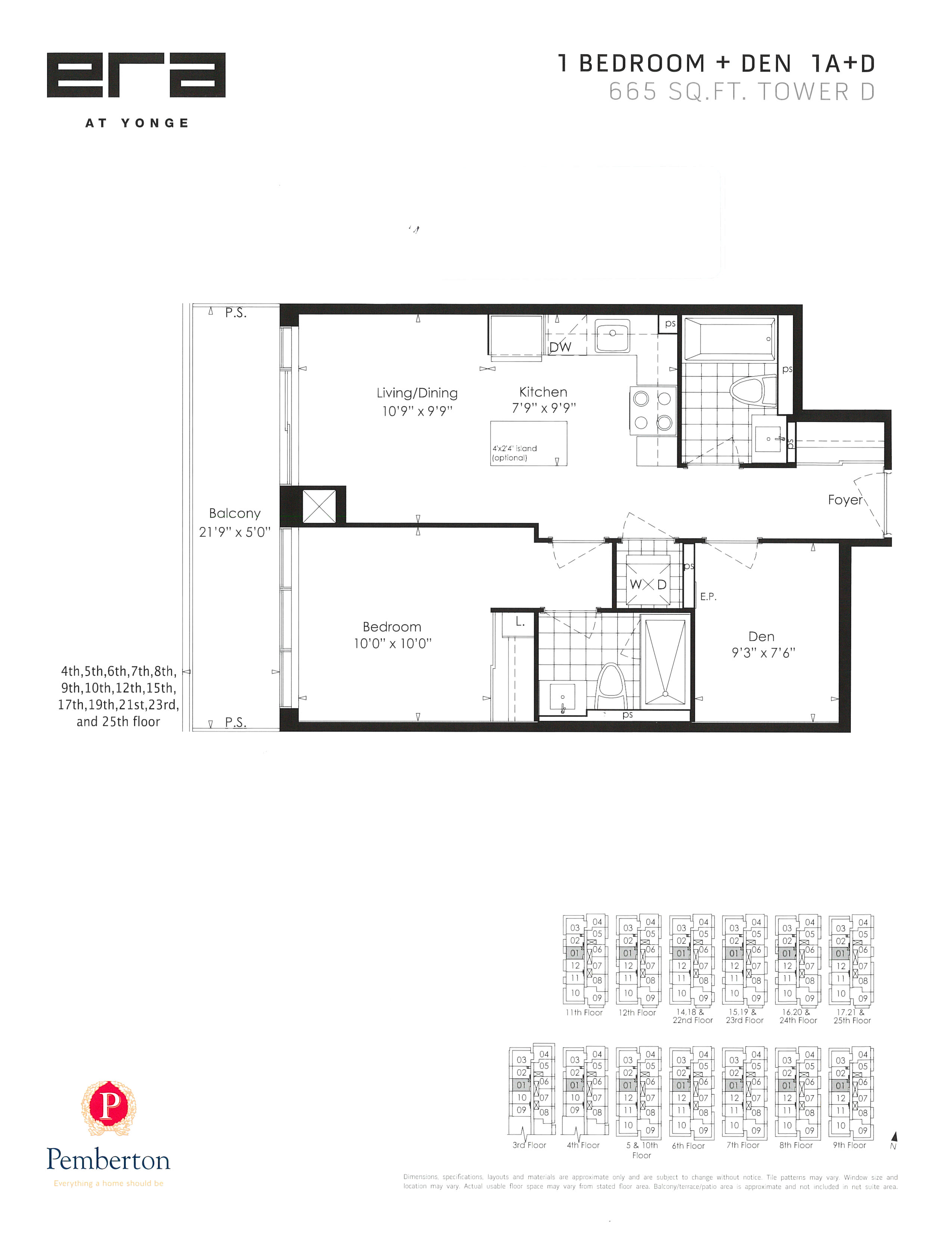 ERA Floor Plan-1A+D